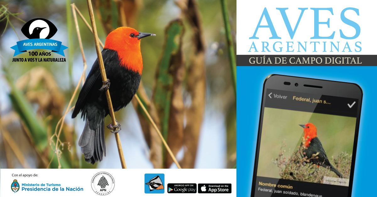 Aves Argentina App Promo Image